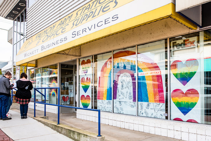 Salmon Arm Pride Project 2020: Window Display Contest