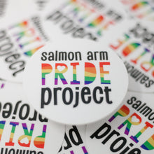 Load image into Gallery viewer, Round Vinyl Sticker | Pride Project