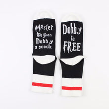 Load image into Gallery viewer, 1 pair Master has given Dobby a Socks summer Socks Hoags Object