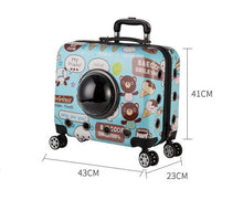 Load image into Gallery viewer, Pet Trolley Accessories Gold Bellerophon