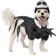 Load image into Gallery viewer, Jack Skellington Nightmare Before Christmas Pet Costume Pets Turquoise Daedalus L