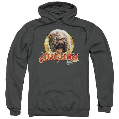Dark Crystal - Aughra Circle Adult Pull Over Hoodie Adult Pull Over Hoodie ApparelPop!