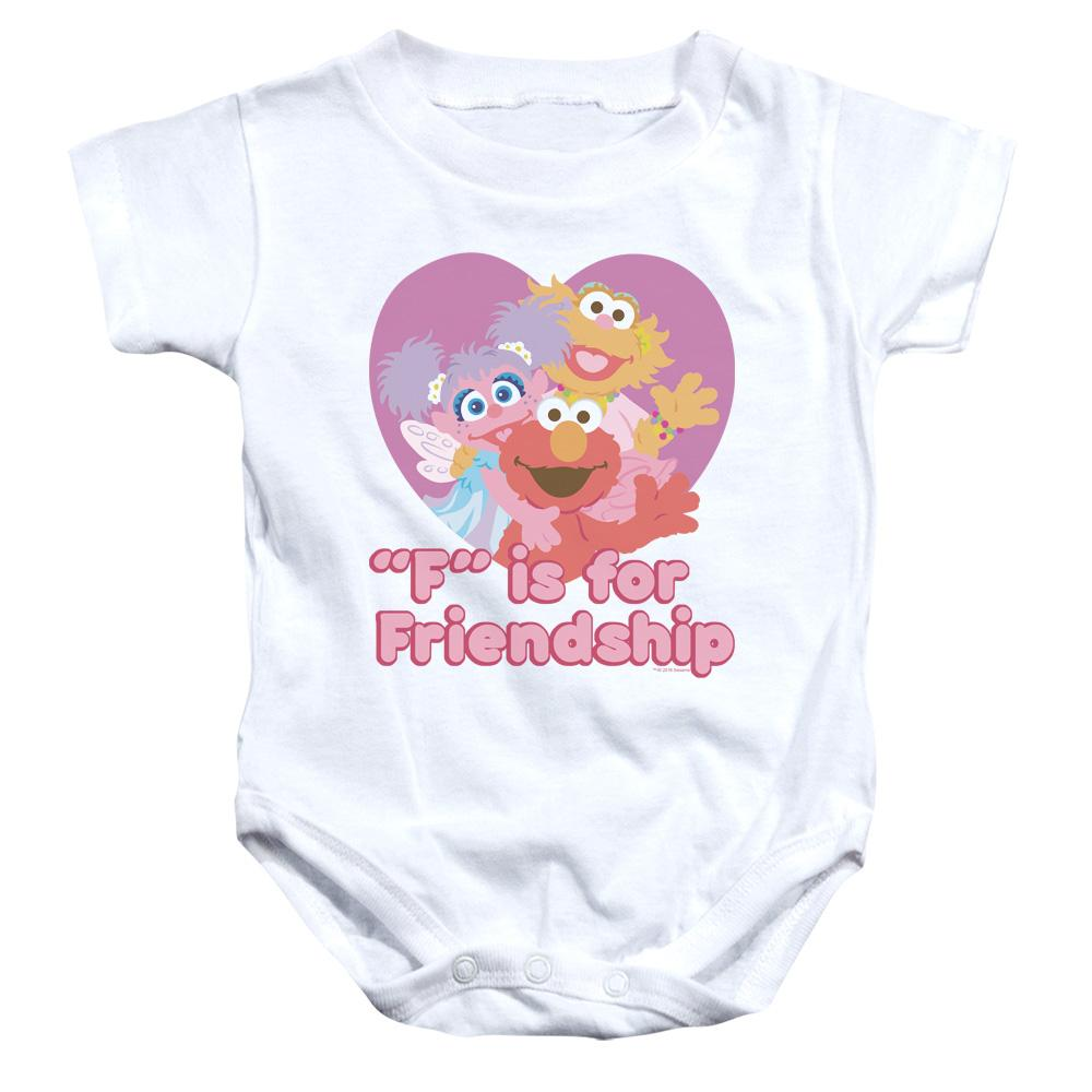 Sesame Street - Friendship Infant Snapsuit Infant Snapsuit ApparelPop!