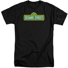 Load image into Gallery viewer, Sesame Street - Logo Short Sleeve Adult Tall Short Sleeve Adult Tall ApparelPop!
