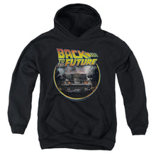 Load image into Gallery viewer, Back To The Future - Youth Pull Over Hoodie Youth Pull Over Hoodie ApparelPop!