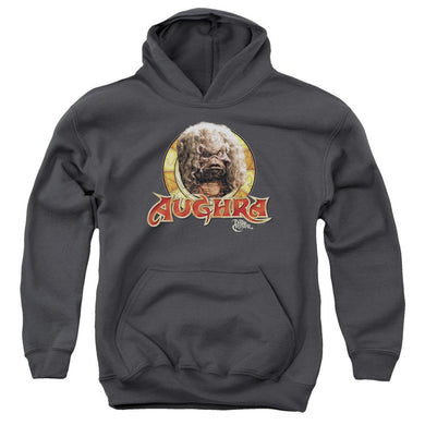 Dark Crystal - Aughra Circle Youth Pull Over Hoodie Youth Pull Over Hoodie ApparelPop!