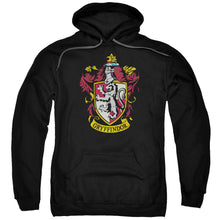 Load image into Gallery viewer, Harry Potter - Gryffindor Crest Adult Pull Over Hoodie Adult Pull Over Hoodie ApparelPop!