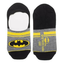 Load image into Gallery viewer, DC Comics Batman 2 Pack No Show Liner Socks