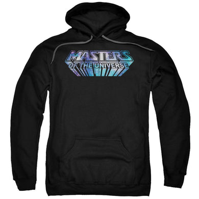 Masters Of The Universe - Space Logo Adult Pull Over Hoodie Adult Pull Over Hoodie ApparelPop!