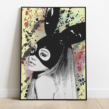 Load image into Gallery viewer, Ariana Grande Poster Home Decor Sky Blue Bearberry