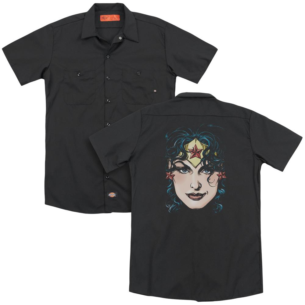 Dickies Wonder Woman Adult Work Shirt