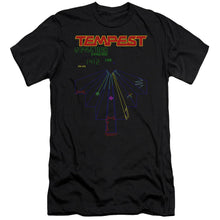 Load image into Gallery viewer, Atari - Tempest Screen Premium Canvas Adult Slim Fit 30/1 Premium Canvas Adult Slim Fit 30/1 ApparelPop!