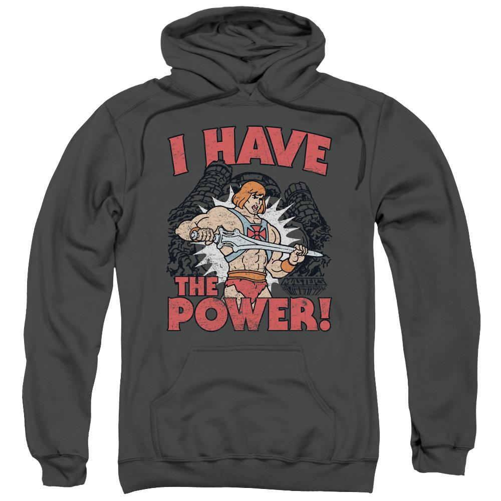 Masters Of The Universe - I Have The Power Adult Pull Over Hoodie Adult Pull Over Hoodie ApparelPop!