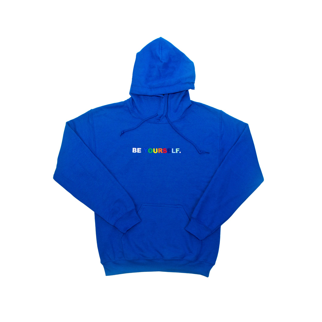 BE YOURSELF HOODIE (BLUE)