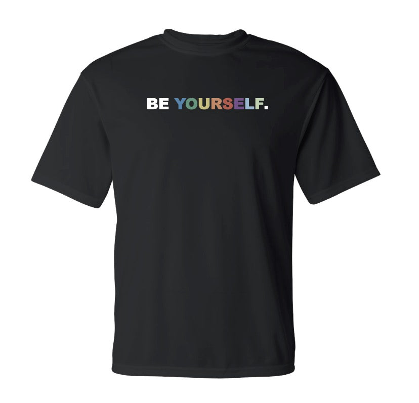 Be Yourself Dry Fit Tee (Black)