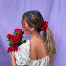 Load image into Gallery viewer, Two tone large scrunchie