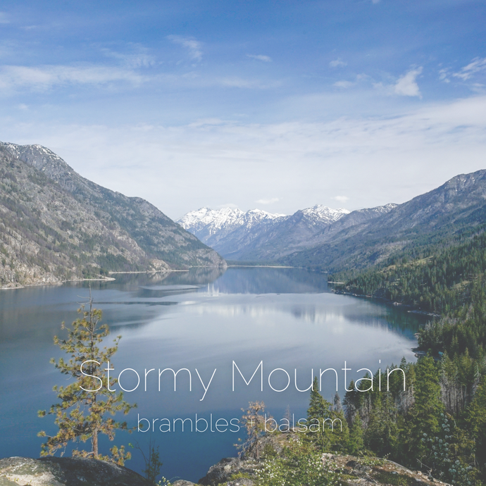 Stormy Mountain : brambles + balsam