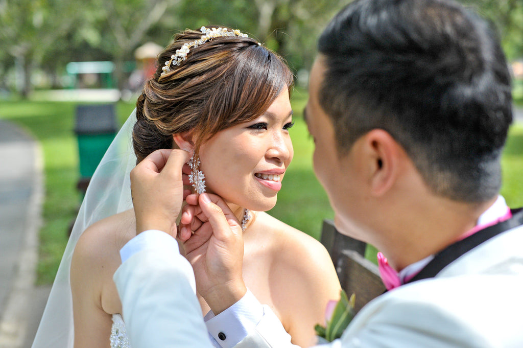SG Makeover Valerie Lim x ZTYLECO Singapore Personalise Wedding Gifts