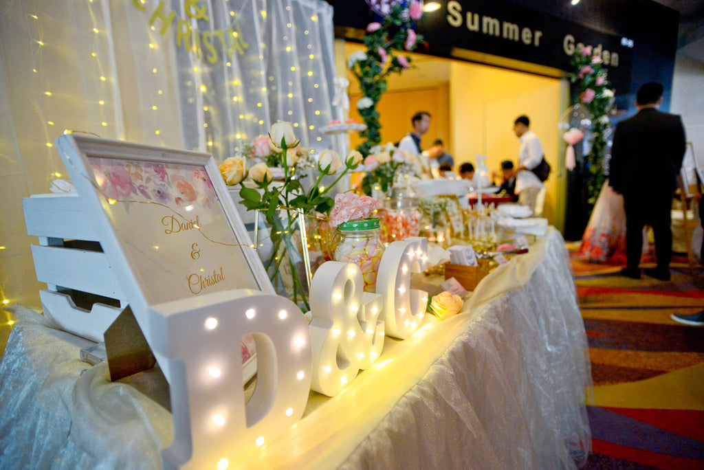 Singapore Wedding Dessert Table x BakerV