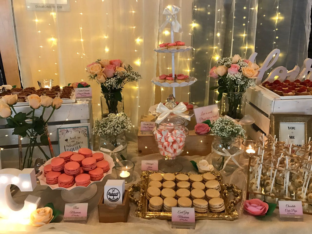dessert table setup singapore