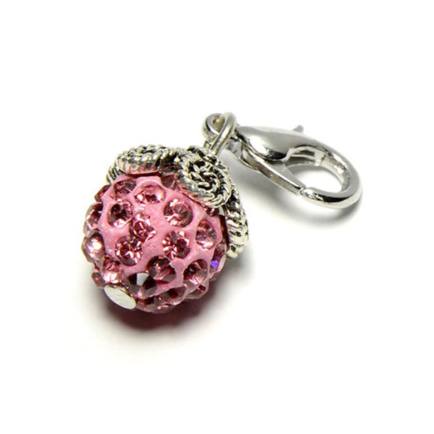 DC#10 Pink Round Crystal