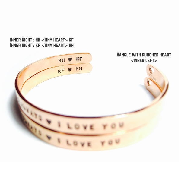 Matt : Say It On Your Wrist Bangles