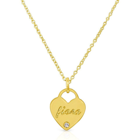 Classic Heart Pendant Necklace II