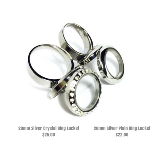 20mm Ring Locket