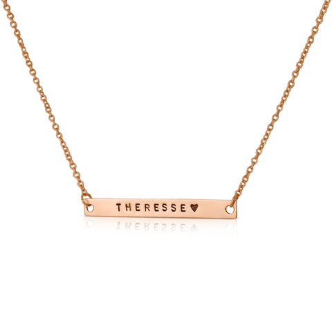 Horizontal NAME Necklace / Bracelet