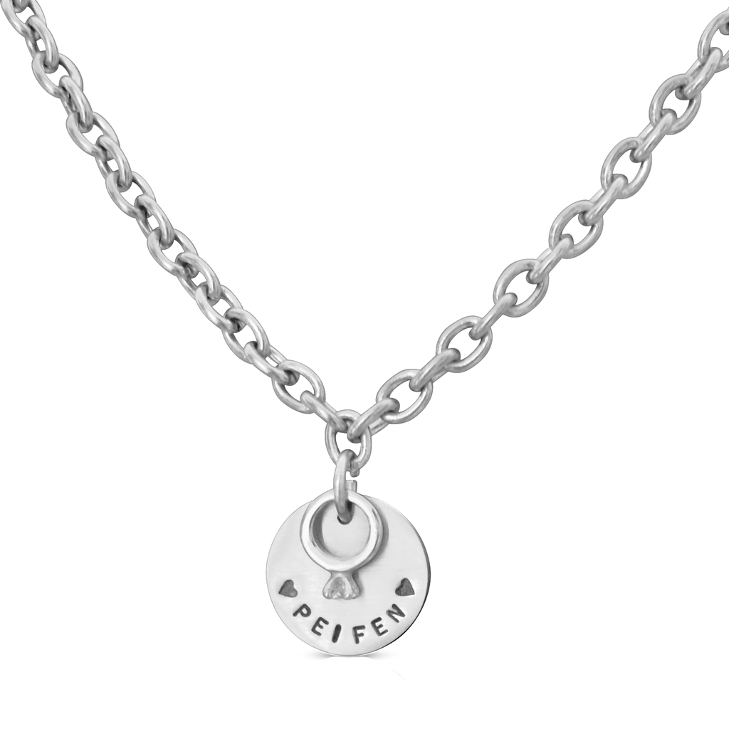 Wedding Ring Star Charm Necklace ZTYLECO