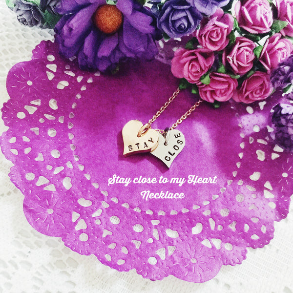 Stay Close to My Heart Necklace