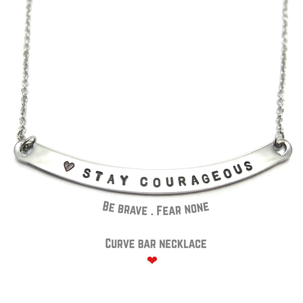 Curve BAR Necklace