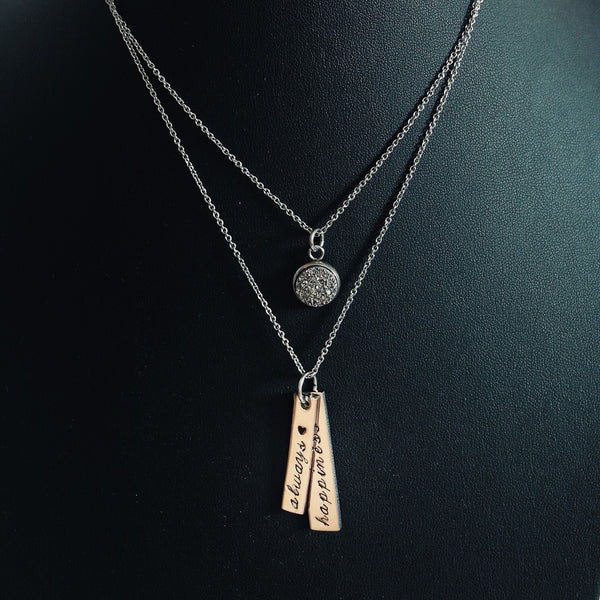 VERTICAL STACK NECKLACE
