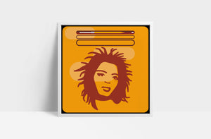 "Lauryn Hill  'The Miseducation of Lauryn Hill'  12"" print"