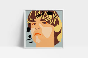 "Tim Burgess 'I Love the New Sky'  12"" print"