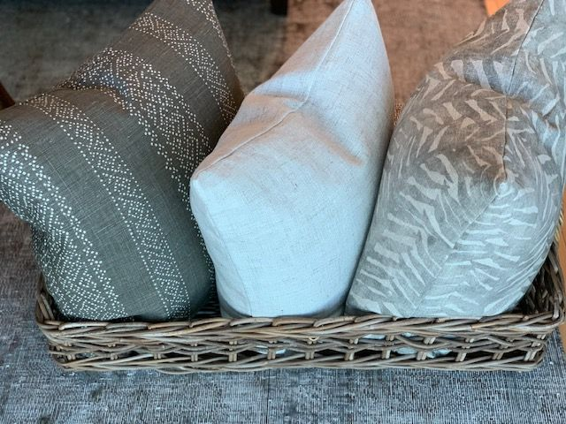 """Stockholm"" Cushions - Bundle of 3 with feather /down inserts"