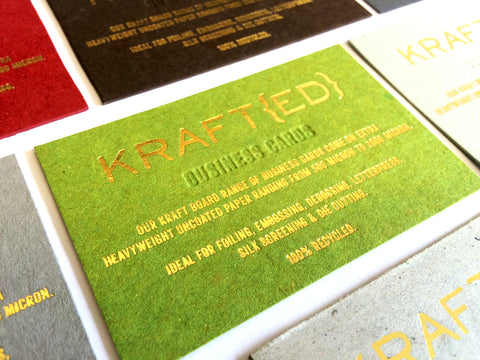 Krafted business cards the business card store bristol based your name reheart Choice Image