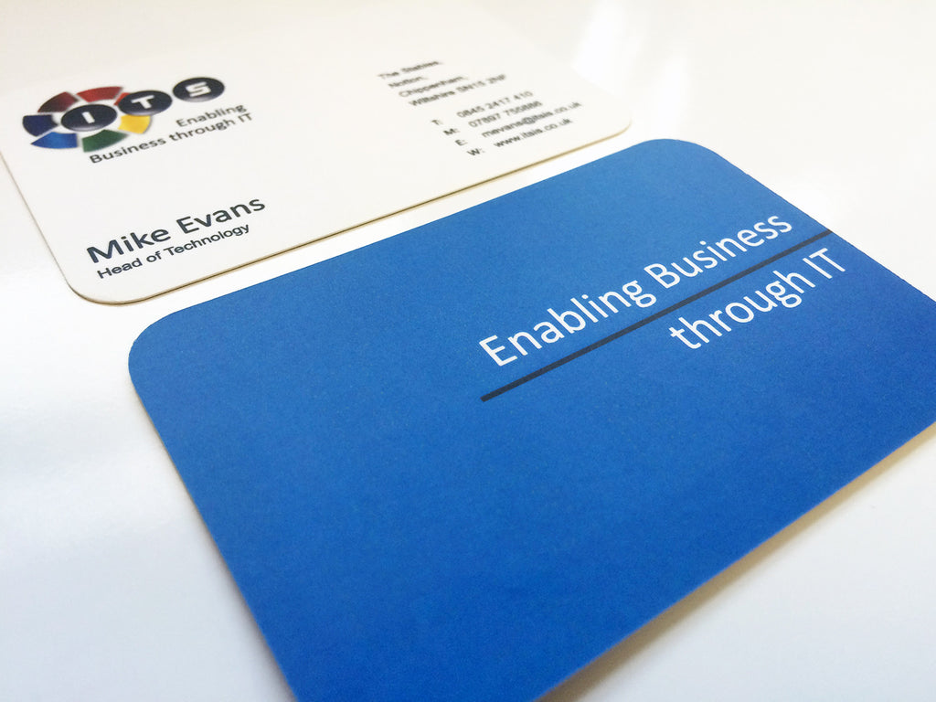 400gsm Matt Laminated (Shaped) | The Business Card Store | Bristol ...