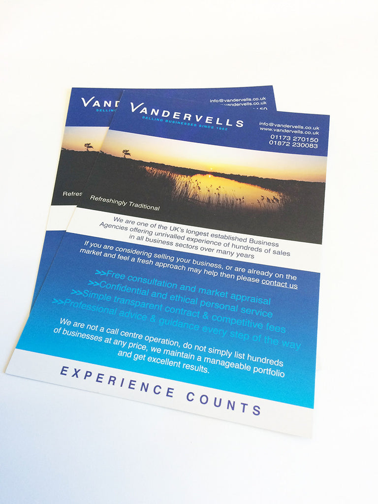A5 flyers the business card store bristol based business card a5 leaflets reheart Choice Image