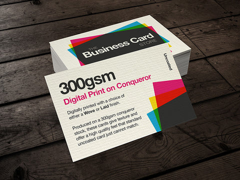 300gsm Digital Print (Conqueror Card)