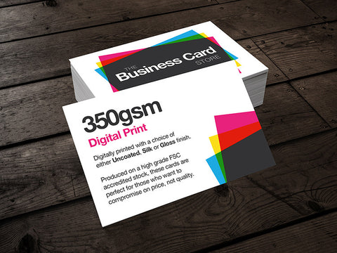 Digital Print - Business Cards - Next Day - The Business Card Store