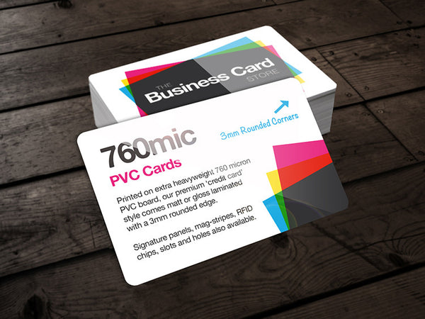 760micron PVC Credit Cards Full Colour