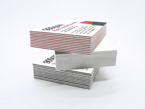 Layered business cards the business card store bristol based 925gsm triple layer business cards colourmoves
