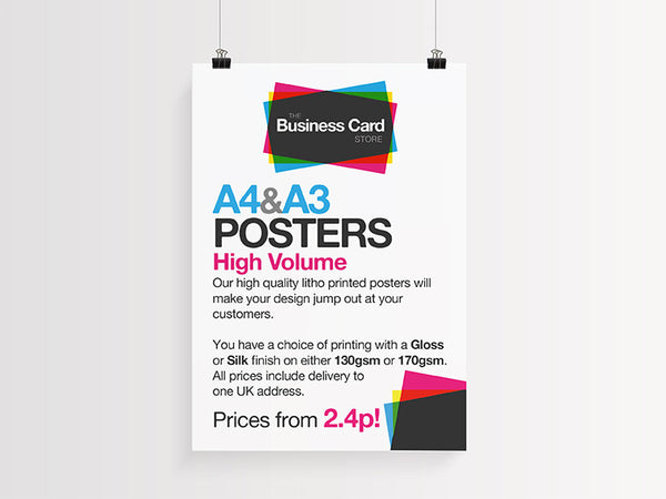 A4 and A3 Posters