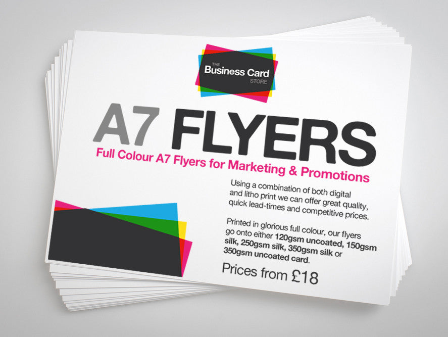 A7 Flyers | The Business Card Store | Bristol Based Business Card ...