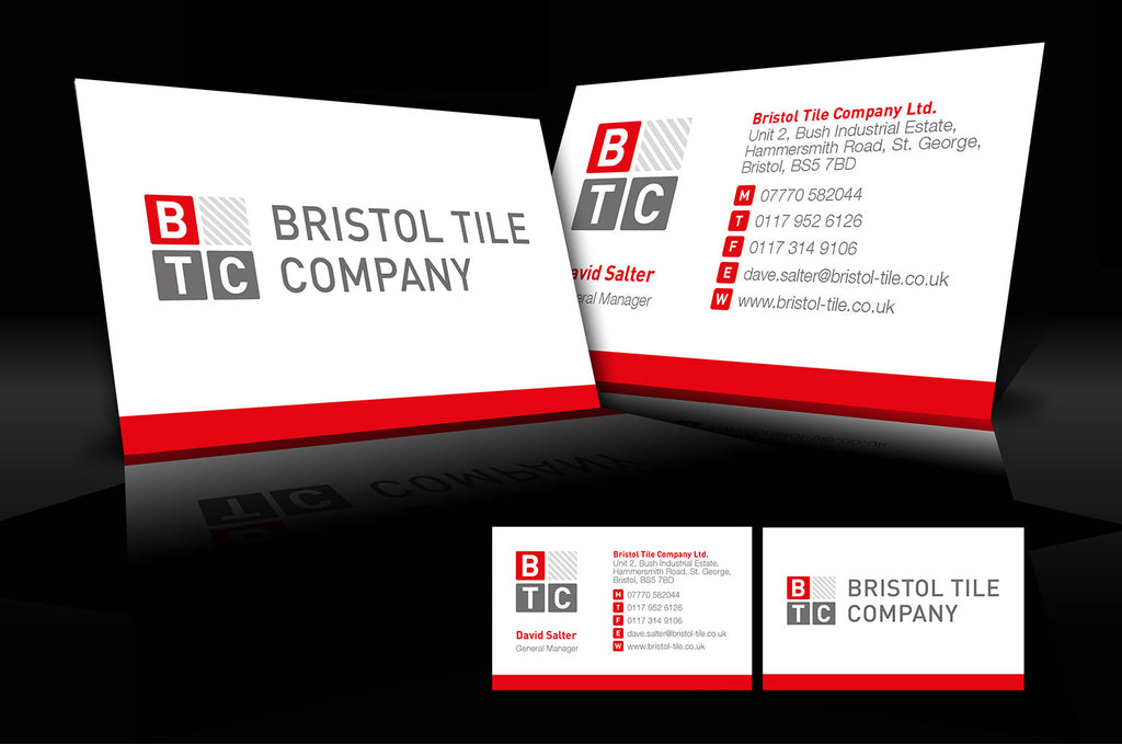 Graphic design services the business card store bristol based business card design btc reheart Image collections