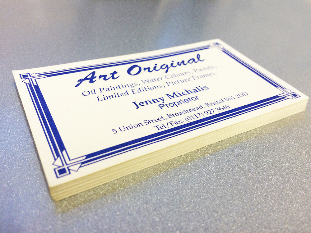 300gsm Digital Print (Conqueror Card) | The Business Card Store ...