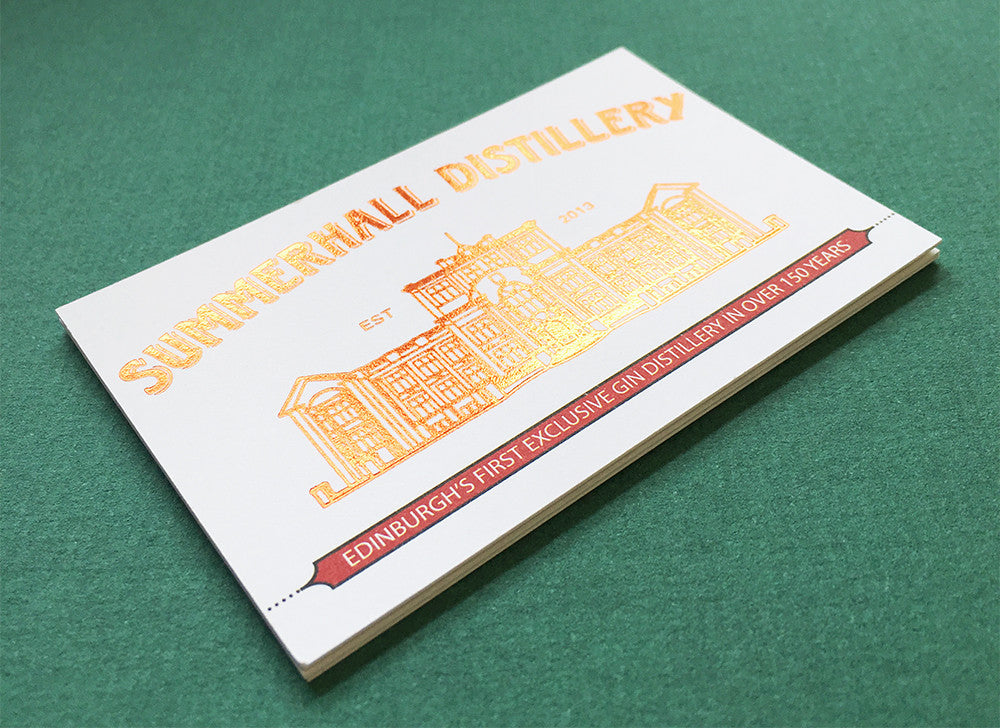 400gsm Foil Blocked | The Business Card Store | Bristol Based ...
