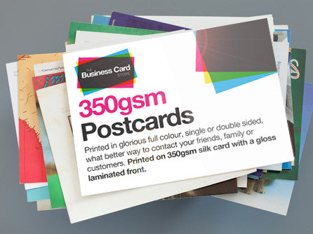 Glossy Postcards