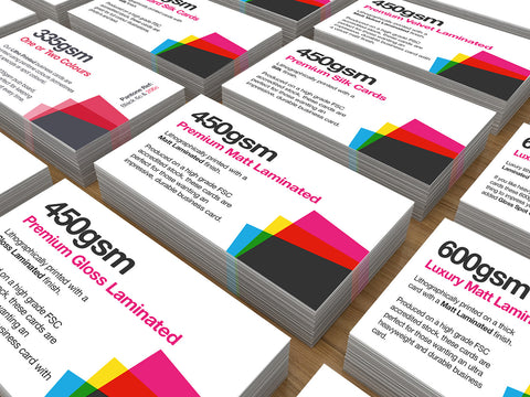 Multiple Name Business Cards